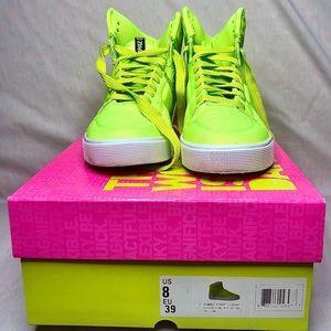 LIKE NEW ZUMBA(R) Street Class Hi-Top Sneakers